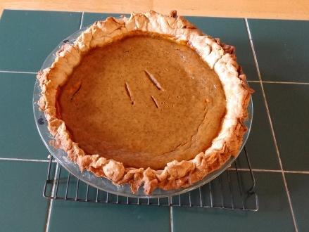 2014-11 - Vernon Hill - Pumpkin pie